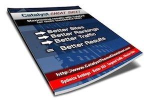 Catalyst Theme Cheat Sheet